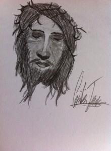 Den lidende Kristus af Cecilia Dahl
